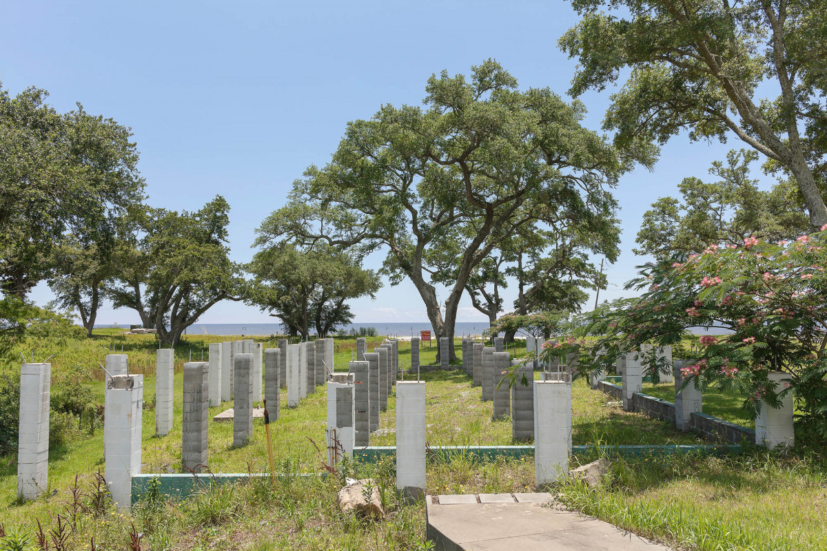 Lot for Sale, House Destroyed by Hurricane Katrina, Bay St. Louis, Mississippi, 2014.